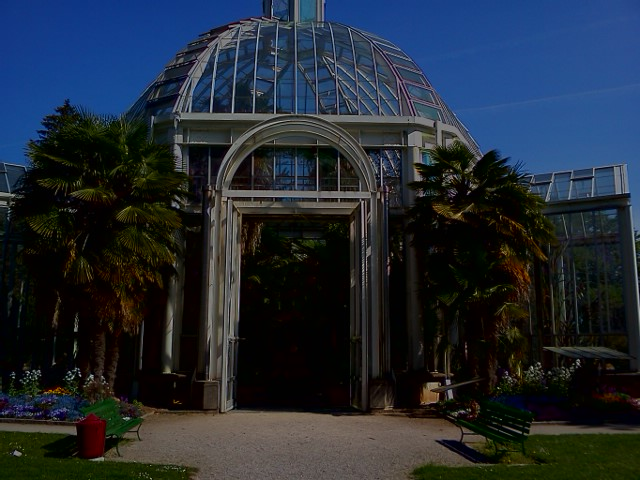 Botanical Gardens Greenhouse