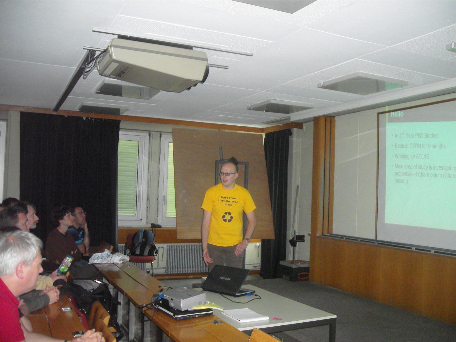 Lee's Presentation